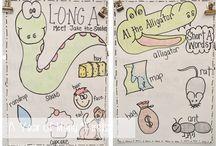 Anchor charts / by Amanda Viverette