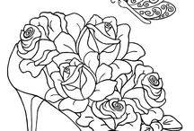 Coloring Pages / by Peggy Allen