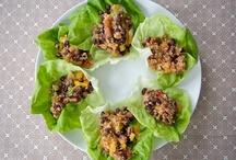 Vegetarian main courses / by Jenny Mick