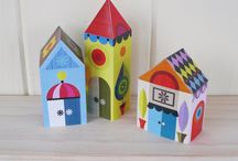 Crafting  (Houses) (Paper) / by Vickie Tagatz