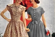 Vintage / Beautiful vintage dresses that made women look beautiful. / by Karen Mason