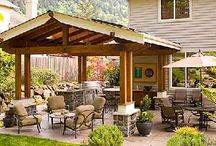The backyard / by Christel Davis