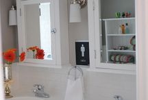 Kids bathroom  / by Kate Sunstrom