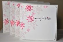 Cards Christmas Snowflakes 2 / by Soni Larson