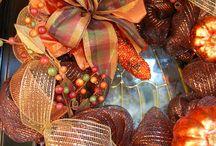 mesh wreaths / by Janie Anders