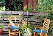 Coordinate outdoor garden / by Cathy Dietz