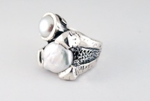 Styliano Jewellery Silver Rings / Silver rings / by Gabriela Styliano Jewellery