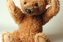 Ready Teddy go. /   there is no friend as true and faithful as a cuddly bear. look after yours and you will be greaty rewarded. / by Irene Hartup