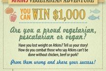 calling all vegans,vegetarians andpescatavians / by cora field