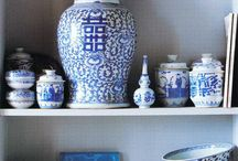 Blue & White China / by Kristy Ward