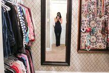 closet ideas / by Renee Westmoreland
