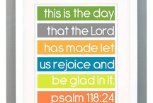 Psalm 118:24 / My favorite verse. / by Audrey Glam