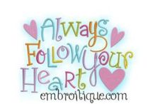 Love Designs / Love Themed Embroidery Designs / by Embroitique