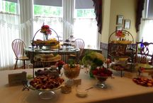 Teatime at Hawthorn / Savories and Sweets - Teas / by Hawthorn, A Bed and Breakfast