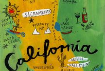 """~""""CALIFORNIA""""~My Golden State~ / California is my home state. I was born and raised in the Napa valley, better known as """"The Wine Country.""""  I want to share my state and my beautiful valley, so I am inspired to make  this California board. I hope you will enjoy pinning from it. / by Diane Harris-Day"""