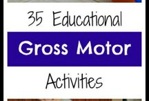 Gross Motor Ideas / by Annie Beebe