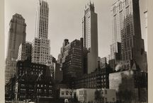 New York City | Classic Scenes in Times Past / 1920s and 1930s architecture and street scenes in black and white / by Merry