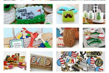 Fathers Day Cookies / by Erin Brankowitz