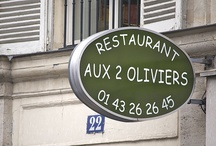 RESTAURANTS / by Francoise Tricard