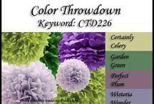 Color combos  / by Judi Zeutenhorst