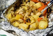 Campfire Recipes / How do you feed your brood while camping? Pin the recipe here. / by Trekaroo Family Travel