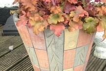 Container gardening / by karen colleran