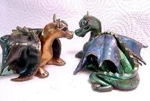 Polymer Clay - Dragons / by Deborah Cruce
