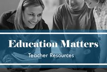 Education Matters / We provide teachers of all grades with resources to help create substantive, impactful conversations with their students! / by FAAR