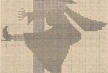 A STITCH in time........ / Cross stitch, needlepoint or plastic canvas patterns/charts / by Laura Fugate