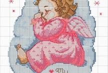 Cross Stitch / Cross stitch / by Karina David Alv