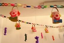School, ecole, cirque clown carnaval / by Cécile smilingmother