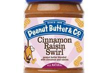 Cinnamon Raisin Swirl / #tasteamazing recipes using our all-natural Cinnamon Raisin Swirl peanut butter / by PeanutButterCo