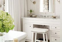 Master Bathroom/Dressing Room / by Tamara Schwarting
