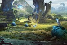 Bro & Bro Game Environment Inspiration / by Hollie Sheppard