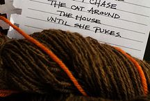 Something Silly / Knitting humor and fiber funnies! / by Green Mountain Spinnery