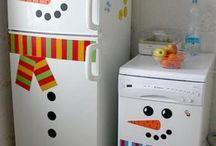 Christmas -- Kitchens / christmas christmas christmas kitchens decor decorating ideas holiday decor / by Mariel Hale