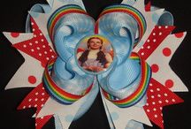 Hair bows / by Candy Lundy Graber