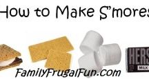 S'mores Recipes & S'mores Fun - / All things s'mores - More S'mores anyone? would you like to pin to my S'mores board? Let me know FamilyFrugalFun@yahoo.com / by Family Frugal Fun