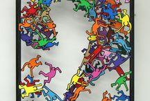 Kid Art Ideas / by Jeanne Walker