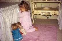 Hey Baby! You're a Doll! 2 / Did you throw your dolls down when you were done playing house? Did you ever stop playing house?  Me neither. / by poetgranny--Judy