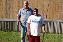 Jay and Kevin Fishing / FISHING  / by Brenda Adams
