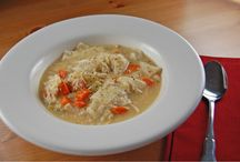 Chicken Soups/Stews / by Kris Sather