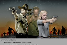 Zombies & The Walking Dead Show / I've loved the zombie genre since I've been a kid - the Romero films, and now The Walking Dead on AMC. I'll also pin any other creepy, scary, horror film/TV show stuff here / by K. Fairbanks