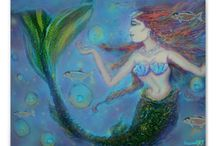#Mermaids & #Sirens of the #Sea / by tessieARTMusic