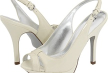 Bridesmaid Shoes / Fashionable, inexpensive options for my lavender bridesmaid dress. Color options are ivory, champagne or gold. / by Janneke Marquez