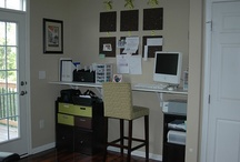 Home Office Ideas / by Carolyn Bahm