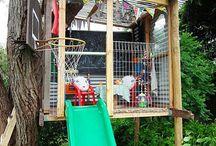 backyard ideas / by Denise Mower