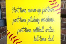 Softball, softball and even more softball / by Michele Dagata