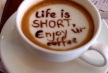 coffee and tea / by Christine Athena