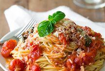 Repins - Pasta / by Delicious Happens